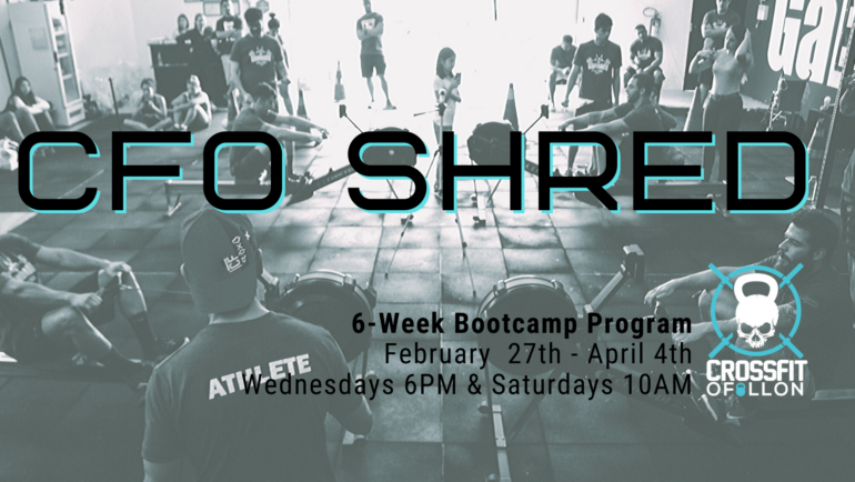 CFO Shred Bootcamp